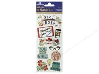 Paper House Sticker Enamel Girl Power