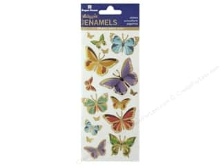 Paper House Sticker Enamel Butterflies