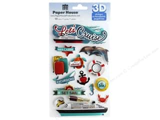 Paper House 3D Stickers - Let's Cruise