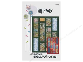 books & patterns: Creative Sewlutions Oh Henry Pattern