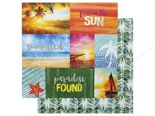 Paper House Paper 12 in. x 12 in. Fun In The Sun (15 pieces)