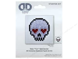 craft & hobbies: Diamond Dotz Starter Kit - Sugar Skull