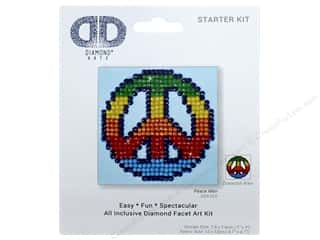 craft & hobbies: Diamond Dotz Starter Kit - Peace Man