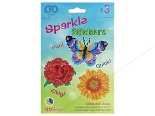 craft & hobbies: Diamond Dotz Sparkle Sticker Kit - Classic