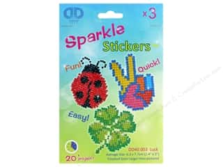 craft & hobbies: Diamond Dotz Sparkle Sticker Kit - Luck