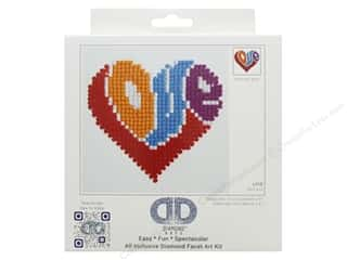 beading & jewelry making supplies: Diamond Dotz Beginner Kit - Love