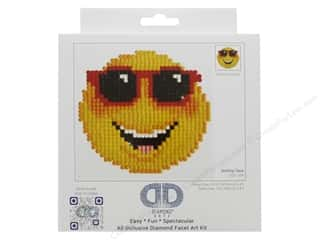 craft & hobbies: Diamond Dotz Beginner Kit - Smiling Face
