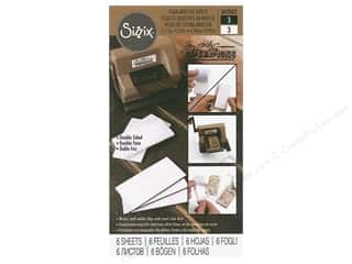 dies: Sizzix Tim Holtz Sidekick Mini Foam Adhesive Sheets Assorted