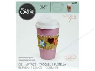 Clearance: Sizzix Katelyn Lizardi Bigz Die Coffee Cup Sleeve