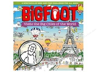 Happy Fox Books BigFoot Visits the Big Cities of the World Book