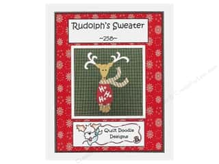 books & patterns: Quilt Doodle Designs Rudolf's Sweater Pattern