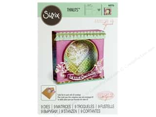 Sizzix Katelyn Lizardi Thinlits Die Set 9 pc. Mini Shadow Box