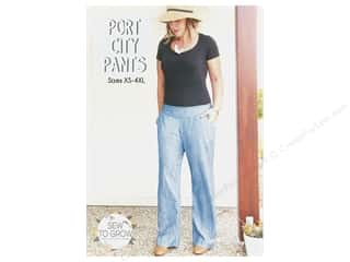 books & patterns: Sew To Grow Port City Pants XS-4XL Pattern