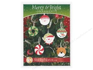 books & patterns: Shabby Fabrics Merry & Bright Ornaments Pattern