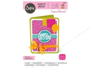 dies: Sizzix Dies Stephanie Barnard Framelits With Circle Drop In Card