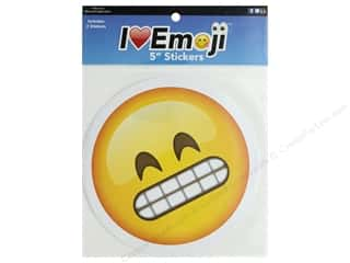 Everything Emoji Sticker Set 5 in. Grimace/Smirk