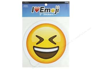 Everything Emoji Sticker Set 5 in. Fit/Laugh/Delicious