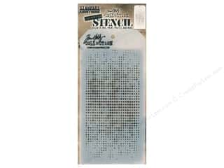 craft & hobbies: Stampers Anonymous Tim Holtz Layering Stencil - Dot Fade