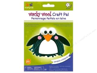 craft & hobbies: Multicraft Krafty Kids DIY Kit Wacky Wool Penguin