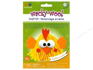 projects & kits: Multicraft Krafty Kids DIY Kit Wacky Wool Chicken