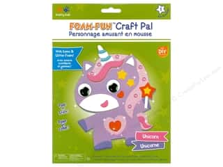 projects & kits: Multicraft Krafty Kids DIY Kit Foam Pal Unicorn