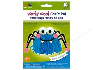 projects & kits: Multicraft Krafty Kids DIY Kit Wacky Wool Spider