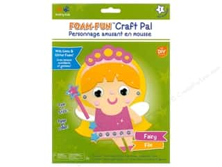 projects & kits: Multicraft Krafty Kids DIY Kit Foam Pal Fairy