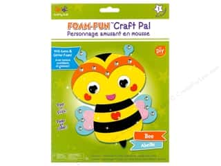 projects & kits: Multicraft Krafty Kids DIY Kit Foam Pal Bee