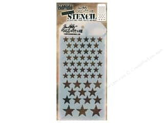 Stampers Anonymous Tim Holtz Layering Stencil - Stars