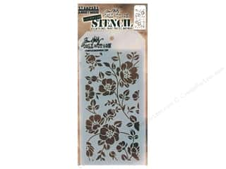 craft & hobbies: Stampers Anonymous Tim Holtz Layering Stencil - Floral