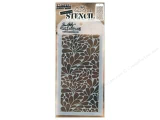 scrapbooking & paper crafts: Stampers Anonymous Tim Holtz Layering Stencil - Splash