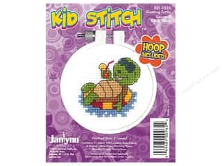 Janlynn Cross Stitch Kit Kid Stitch Floating Turtle