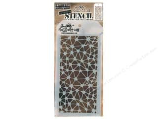 craft & hobbies: Stampers Anonymous Tim Holtz Layering Stencil - Organic