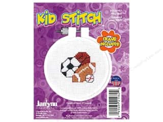 yarn: Janlynn Cross Stitch Kit Kid Stitch Play Ball
