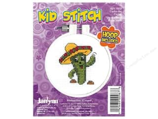stamps: Janlynn Cross Stitch Kit Kid Stitch Carlos The Cactus
