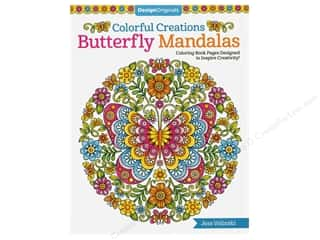 books & patterns: Design Originals Colorful Creations Butterfly Mandalas Book