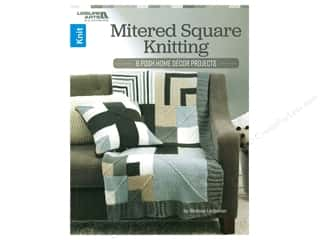 Leisure Arts Mitered Square Knitting Book
