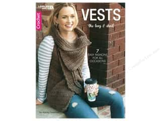 Leisure Arts Vests The Long & Short Book