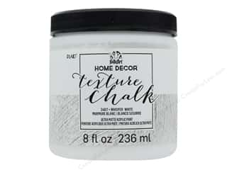FolkArt Home Decor Texture Chalk 8 oz. Whisper White