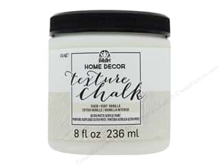 FolkArt Home Decor Texture Chalk 8 oz. Very Vanilla