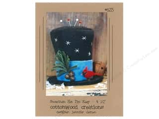 Cottonwood Creations Snowman Hat Pin Keep Pattern