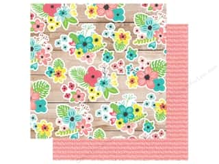 Simple Stories Collection Hello Summer Paper 12 in. x 12 in. Paradise Found (25 pieces)