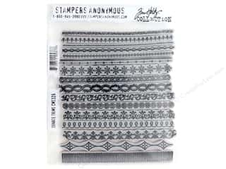 scrapbooking & paper crafts: Stampers Anonymous Cling Mount Stamp Tim Holtz Ornate Trims