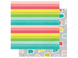 Simple Stories Collection Hello Summer Paper 12 in. x 12 in. Life Is Good (25 pieces)