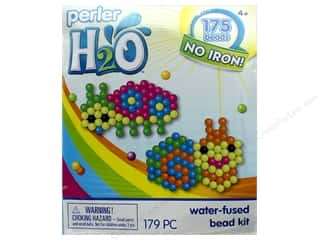 projects & kits: Perler H2O Water Fused Bead Kit Trial Ladybug & Snail