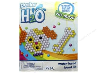 projects & kits: Perler H2O Water Fused Bead Kit Trial Puppy & Bone