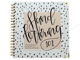scrapbooking & paper crafts: Blue Star Press Hand Lettering 101 Book