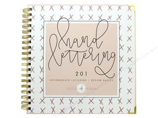 scrapbooking & paper crafts: Blue Star Press Hand Lettering 201 Book