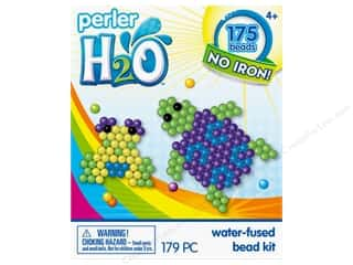 beading & jewelry making supplies: Perler H2O Water Fused Bead Kit Trial Turtle & Frog