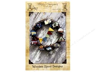 books & patterns: Wooden Spool Designs Happy Campers Pattern